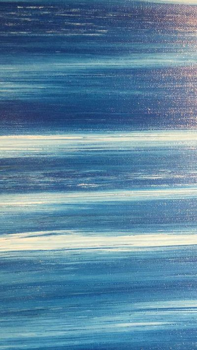 Detail of Mediterranean Blues